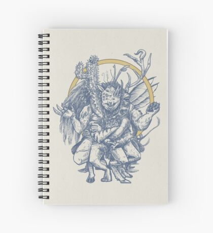 The Monster Among Us Spiral Notebook