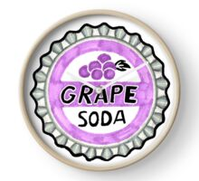 up grape soda pin  Clock
