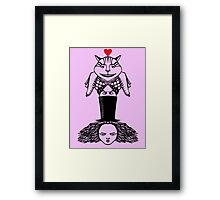 Alice Totem Framed Print