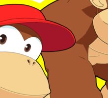 Super Smash Bros. Donkey Kong and Diddy Kong! Sticker