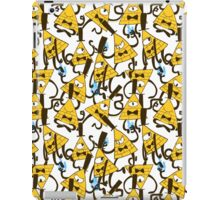 Bill Cipher pattern - plain iPad Case/Skin