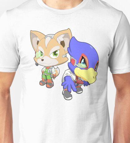 Super Smash Bros. Fox and Falco Unisex T-Shirt