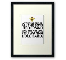 Let's P-P-P-Parody other songs! Framed Print