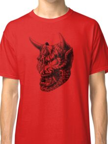 Japanese Demon Mask v1 Classic T-Shirt
