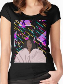 Solange! Women's Fitted Scoop T-Shirt