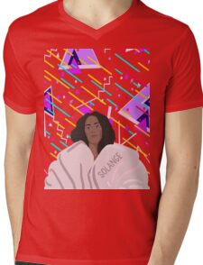 Solange! Mens V-Neck T-Shirt