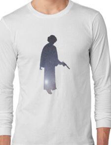 Princess Leia Galaxy Long Sleeve T-Shirt