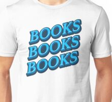 blue BOOKS Unisex T-Shirt