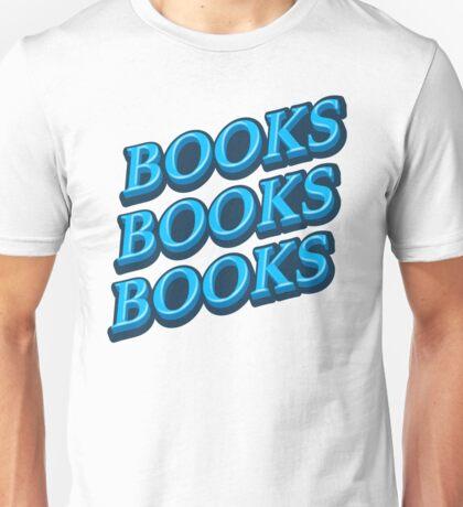 blue BOOKS Unisex T-Shirt