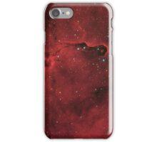 Elephant Trunk nebula in constellation Cepheus iPhone Case/Skin