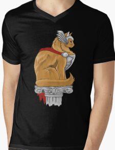 Thorkitty Mens V-Neck T-Shirt