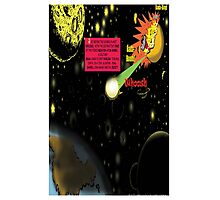 Bird of Steel Comix - Page #2-8 (Red Bubble POP-ART COLLECTION SERIES) Photographic Print