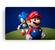 ...But Mario... Canvas Print