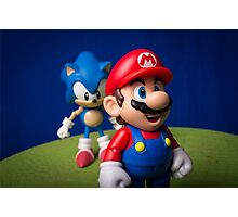 ...But Mario... Photographic Print