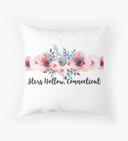 stars hollow gilmore girls Throw Pillow