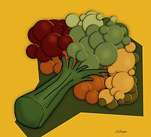 Broccoli A Little Different by YoPedro