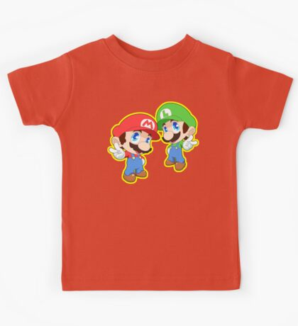 Super Smash Bros. Mario and Luigi! Kids Tee