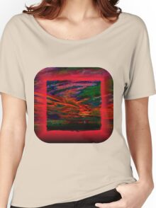 Technicolor Sunset 2 Women's Relaxed Fit T-Shirt