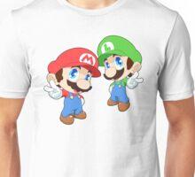 Super Smash Bros. Mario and Luigi Unisex T-Shirt