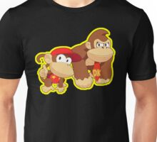 Super Smash Bros. Donkey Kong and Diddy Kong! Unisex T-Shirt