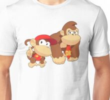 Super Smash Bros. Donkey Kong and Diddy Kong Unisex T-Shirt