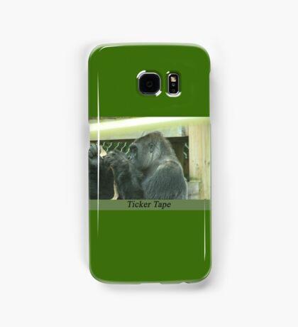 Ticker Tape Samsung Galaxy Case/Skin
