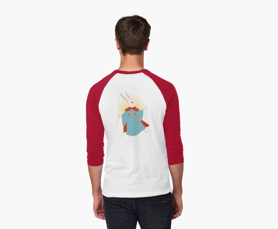 Saint Bunny has your back by SusanSanford