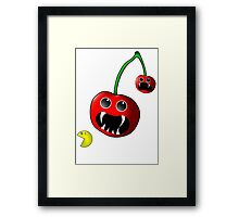 Cherry Revenge Framed Print