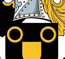 Nottingham Coat of Arms (English) Sticker
