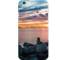 English Bay Sunset iPhone Case/Skin