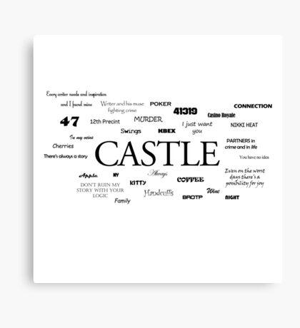 Castle world Canvas Print