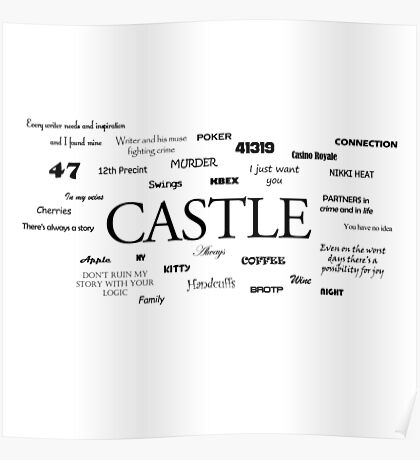Castle world Poster