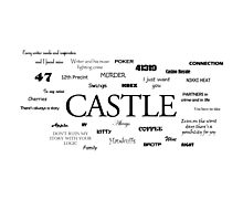 Castle world Photographic Print