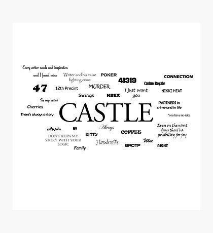 Castle world Photographic Print