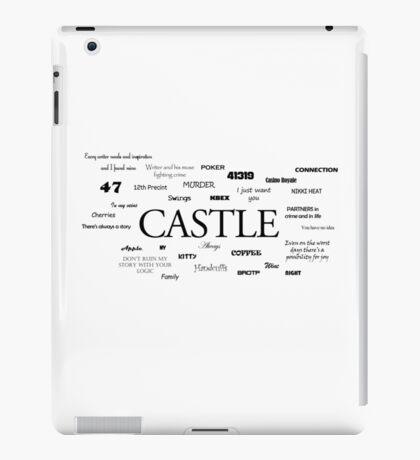 Castle world iPad Case/Skin
