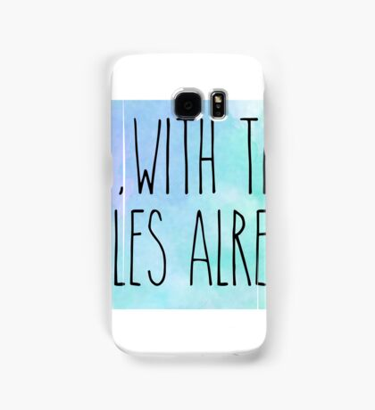 oy with the poodles gilmore girls Samsung Galaxy Case/Skin