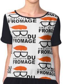 Omelette du fromage Chiffon Top