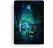 Moonlight nocturne Canvas Print