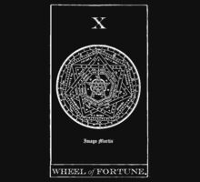 Wheel of Fortune Tarot X by Imago-Mortis