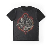 The Journey of the Black Swordsman Graphic T-Shirt