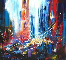 New York by KasiaPawlakArt