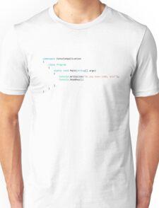 Do you even code, bro? Unisex T-Shirt