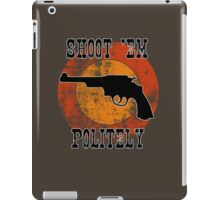 Shoot 'em iPad Case/Skin