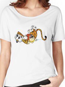 Calvin Hobbes T-Shirt Women's Relaxed Fit T-Shirt