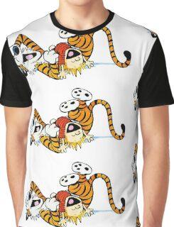 Calvin Hobbes T-Shirt Graphic T-Shirt
