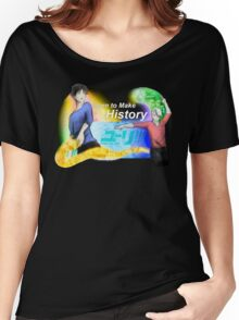 Victuuri - Yuri on Ice (neon) Women's Relaxed Fit T-Shirt