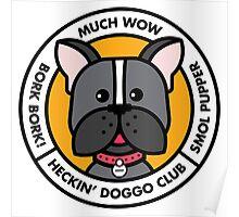 Heckin' Doggo Club, Wow Poster