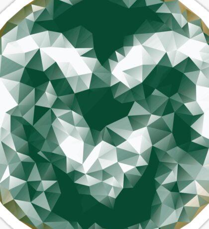 CSU Triangles Sticker