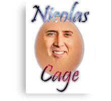 Nicolas ''Egg'' Cage Canvas Print