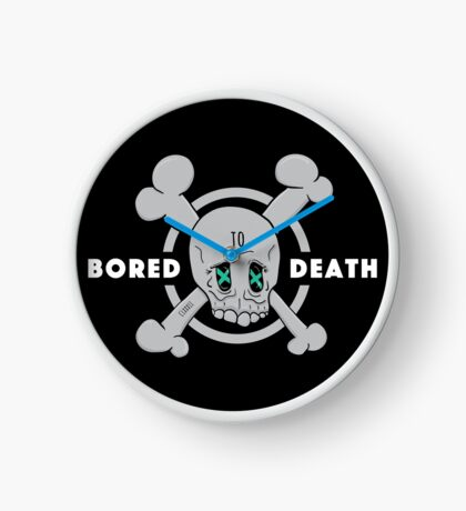 Bored to Death Clock